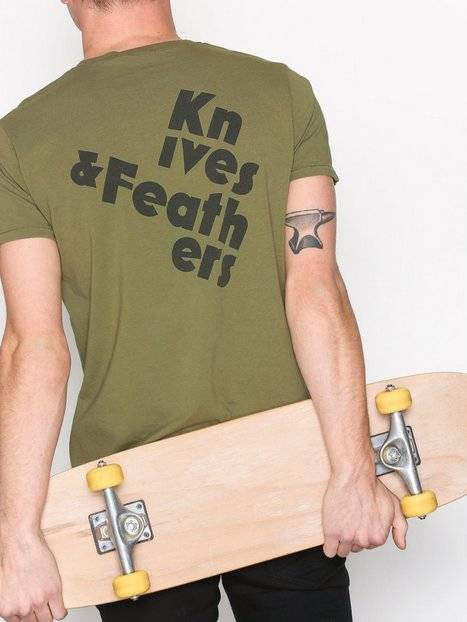 Nudie Jeans Anders Hugin And Munin T-paidat ja topit Green