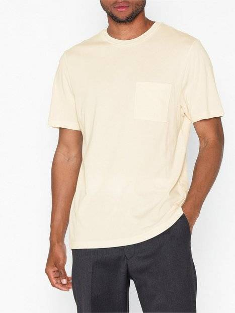 Samsøe Samsøe Bevtoft t-shirt 10964 T-paidat ja topit White Asparagus