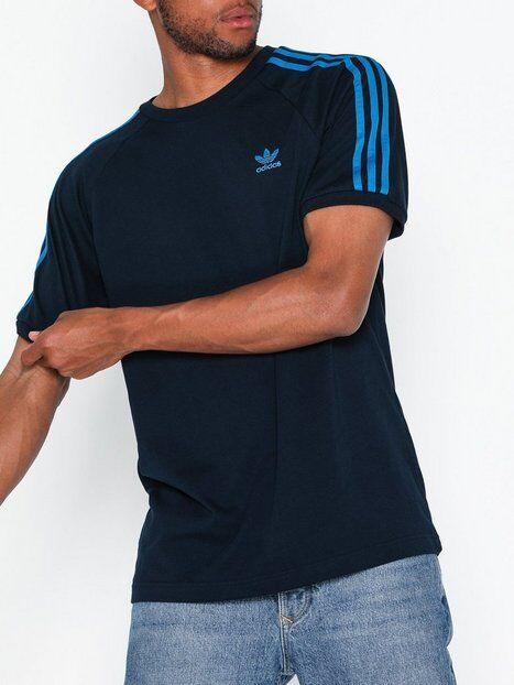 Adidas Originals Blc 3-S Tee T-paidat ja topit Navy
