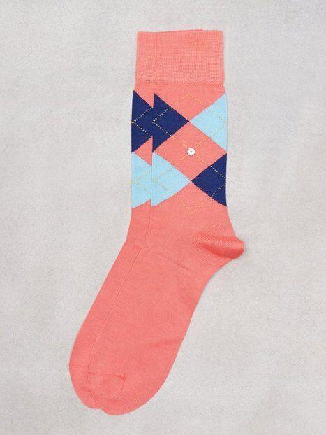 Burlington Manshester Sock Sukat Rose