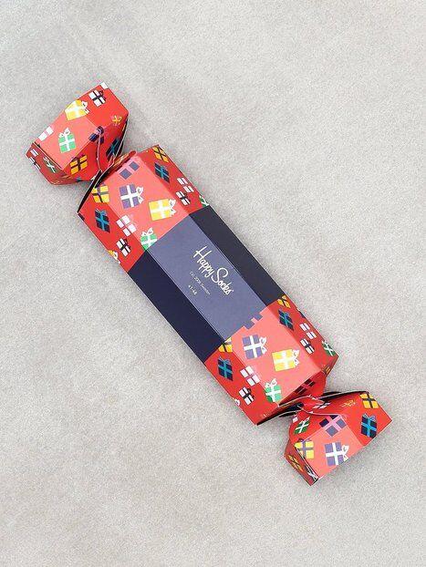 Happy Socks Gift Cracker Box Box Sukat Punainen