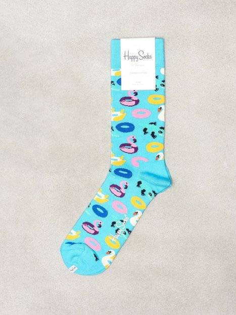 Happy Socks Pool Party Sock Sukat Blue