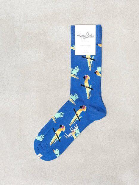 Happy Socks Parrot Sock Sukat Blue