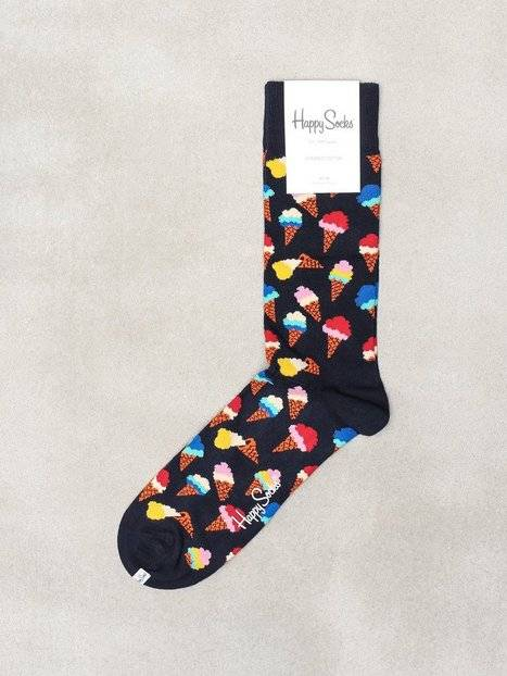 Happy Socks Ice Cream Sock Sukat Blue