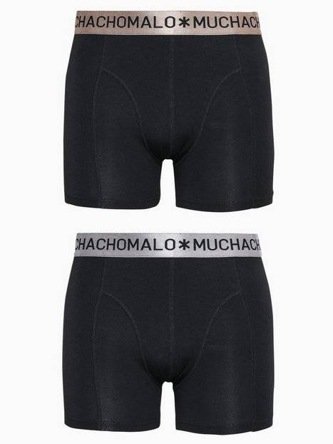 Muchachomalo Xmas Boxer 2-Pack Bokserit Black