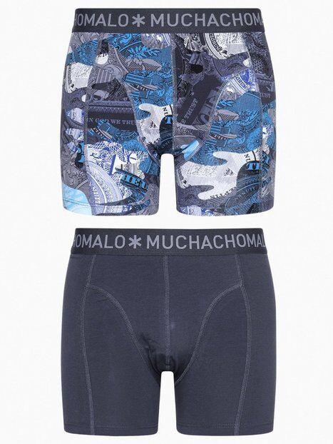 Muchachomalo Hustl Boxer 2-Pack Bokserit Print