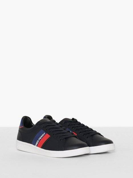 Fred Perry B721 Two Tone Brand Sneakers Navy