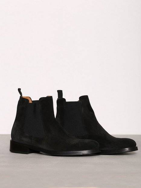 Human Scales Boyle Suede Boots Chelsea-saappaat Black