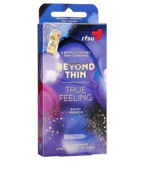 RFSU True Feeling Condoms 8-pack Intiimituotteet Läpinäkyvä