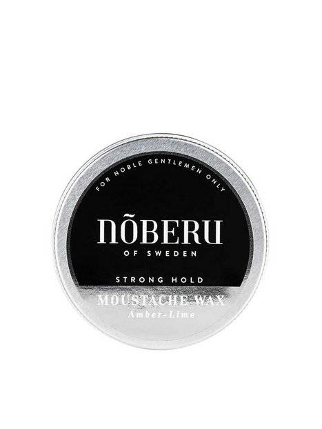 Nõberu Of Sweden Moustache Wax Amber Lime Strong Hold Parranajo Amber