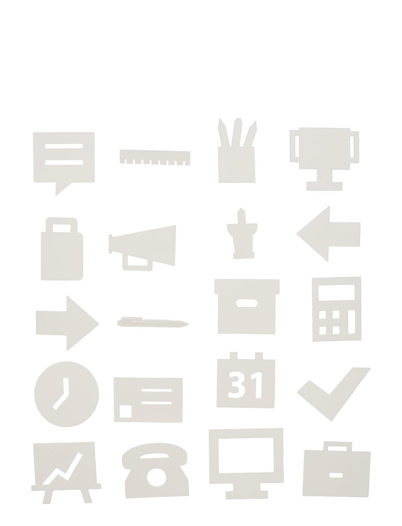 Design Letters Office Icons, For Message Board Kodin Sisustus Hopea Design Letters