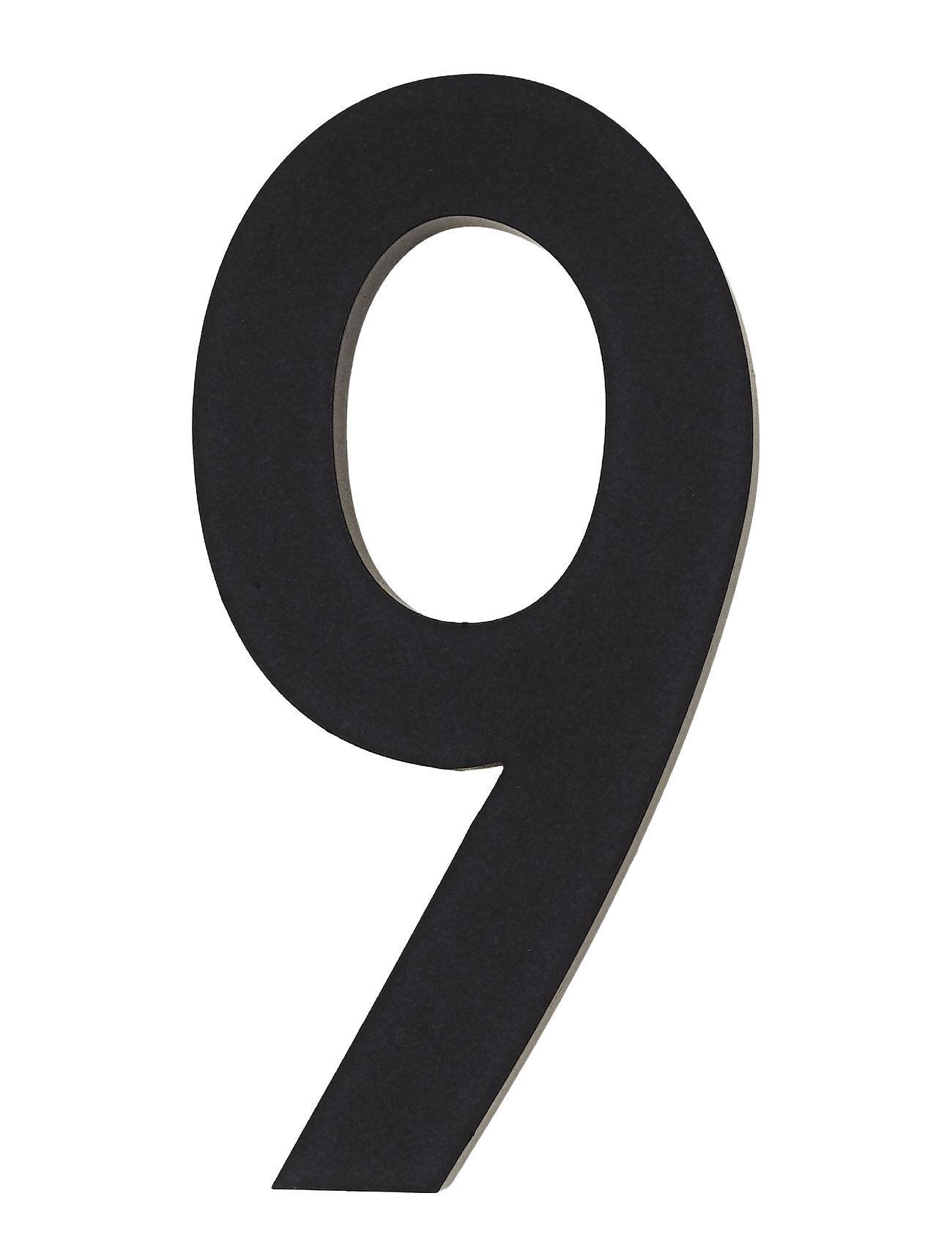Design Letters Architect Numbers 50 Mm Kodin Sisustus Musta Design Letters