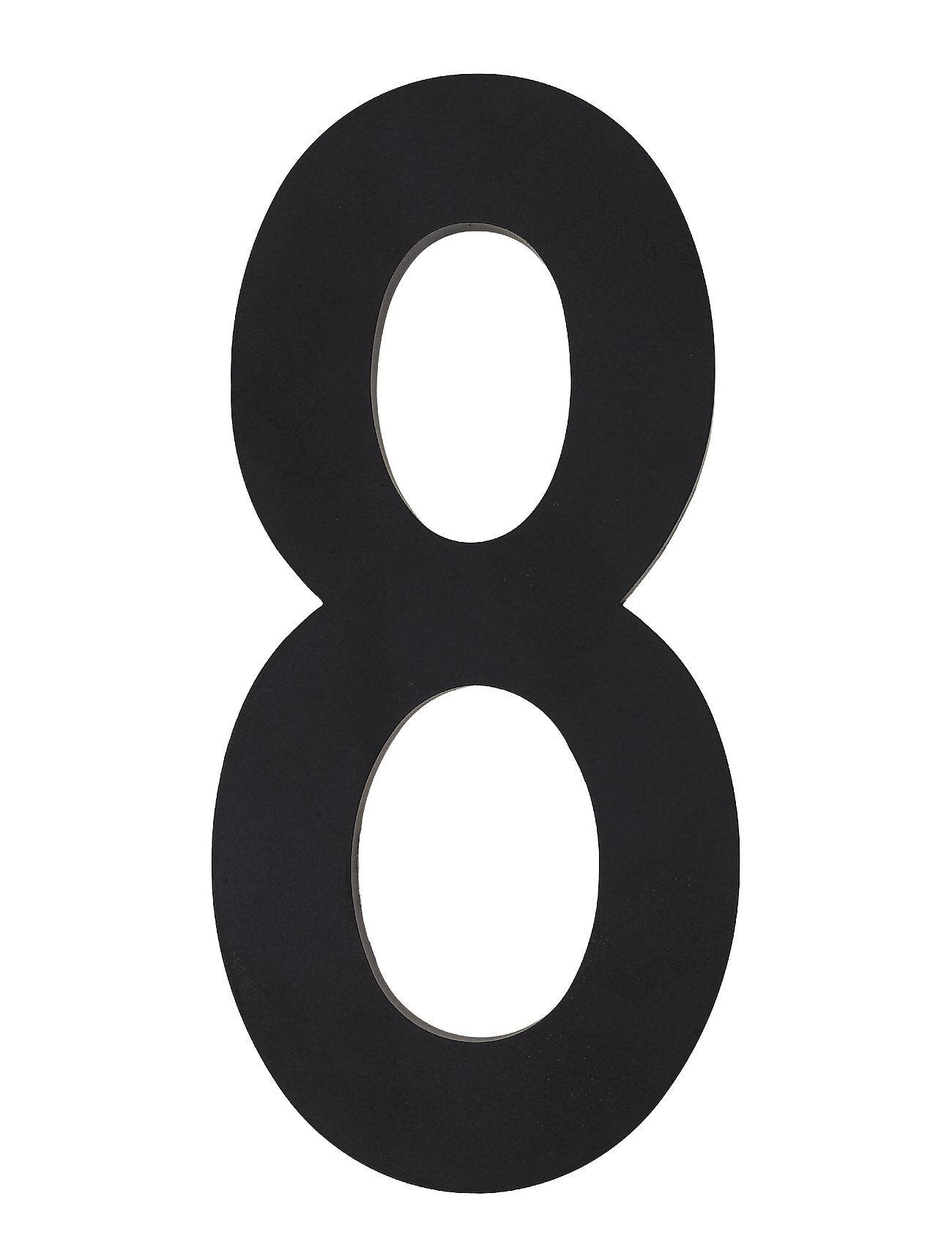 Design Letters Architecht Numbers 100 Mm Kodin Sisustus Musta Design Letters