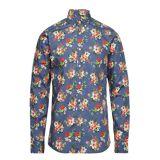 Morris Dan Button Down Shirt Paita Rento Casual Monivärinen/Kuvioitu Morris