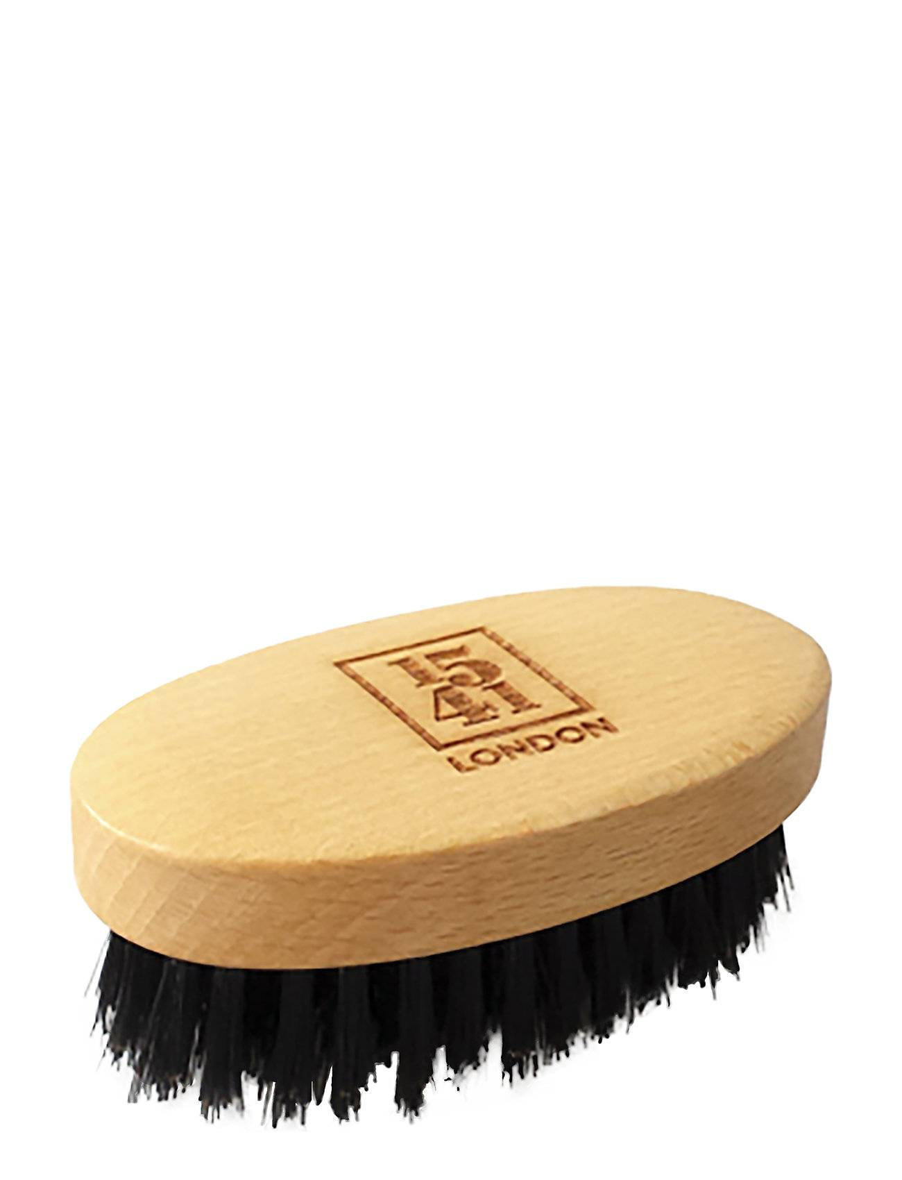 1541 of London Mini Beard & Moustache Brush Beechwood