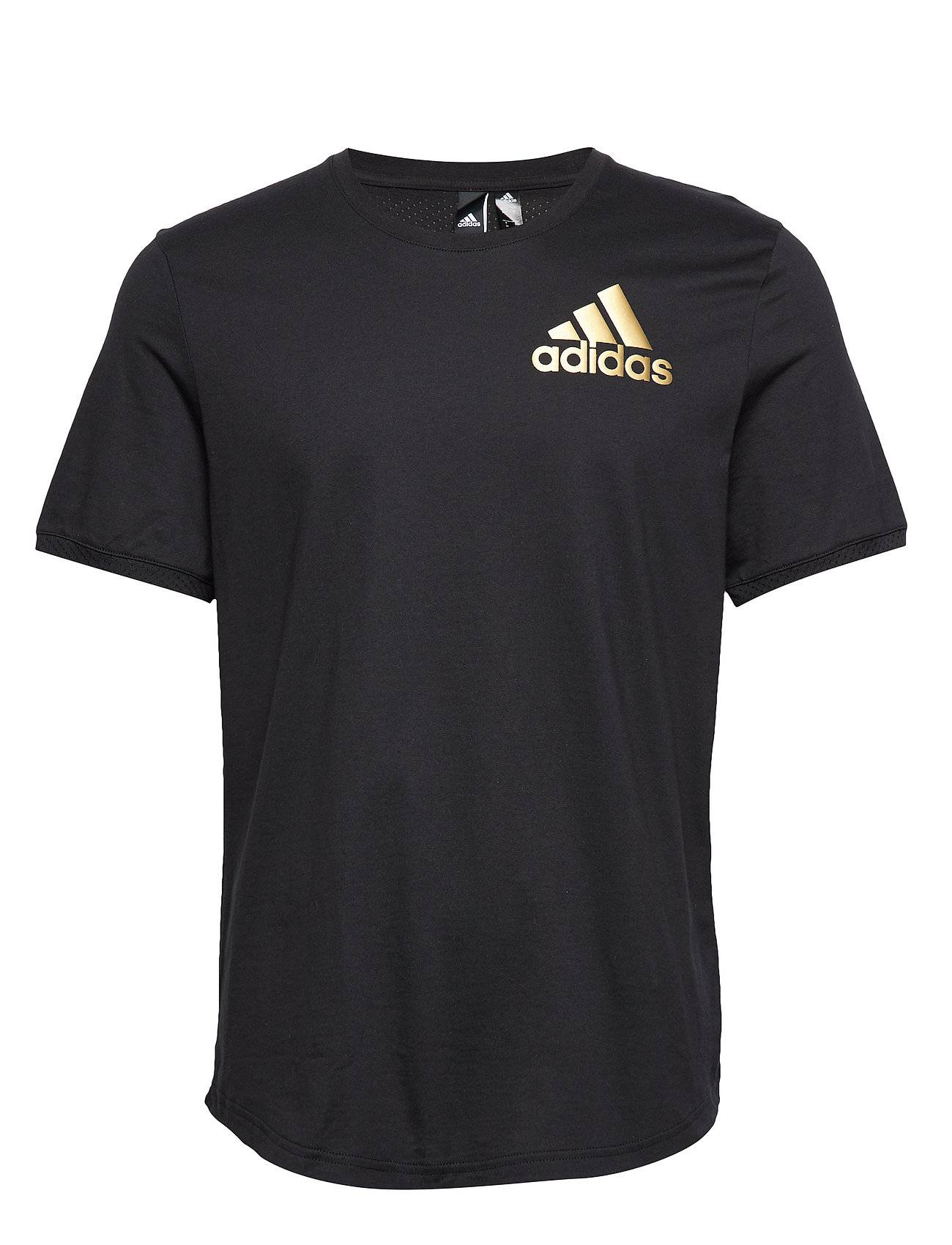 Image of adidas Performance M Sid Tee Ct T-shirts Short-sleeved Musta Adidas Performance