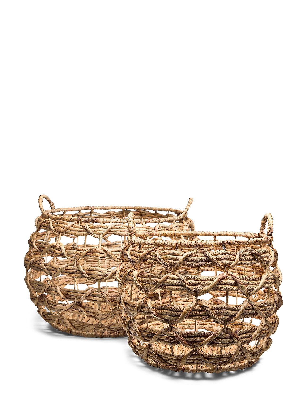 Bloomingville Basket Kodin Sisustus Monivärinen/Kuvioitu Bloomingville