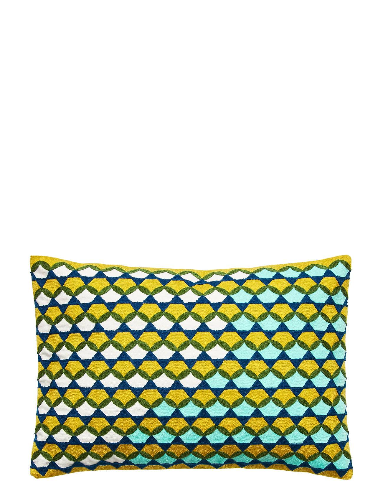 Bloomingville Cushion Home Living Room Cushion Keltainen Bloomingville