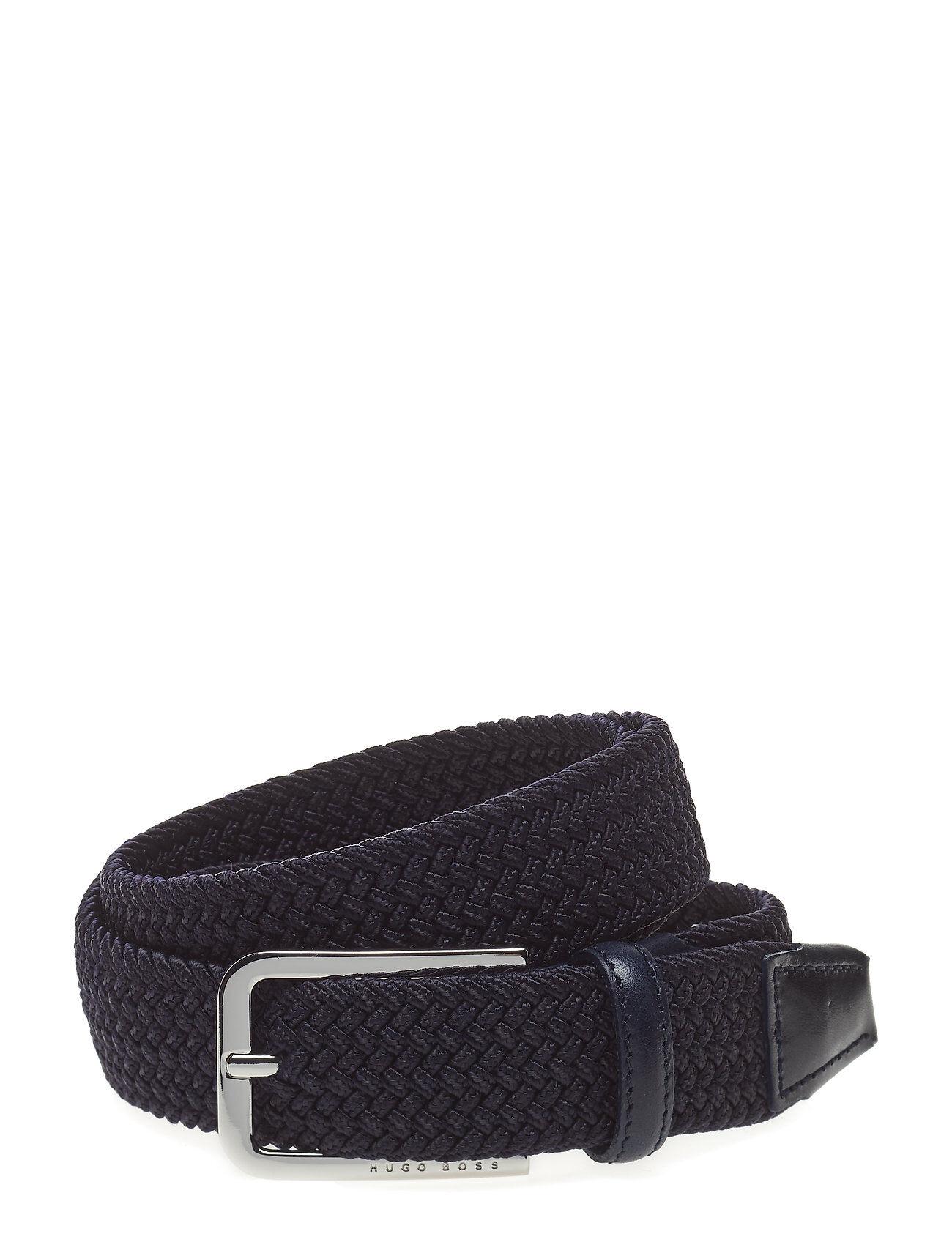 Image of Boss Clorio_sz30 Accessories Belts Braided Belt Sininen
