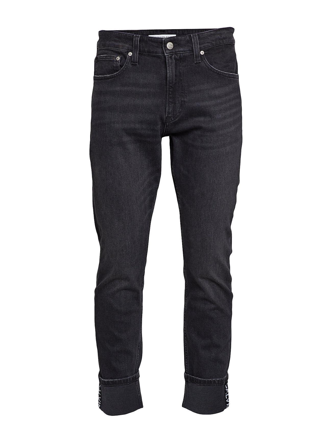 Image of Calvin Ckj 026 Slim Tiukat Farkut Musta Calvin Klein Jeans