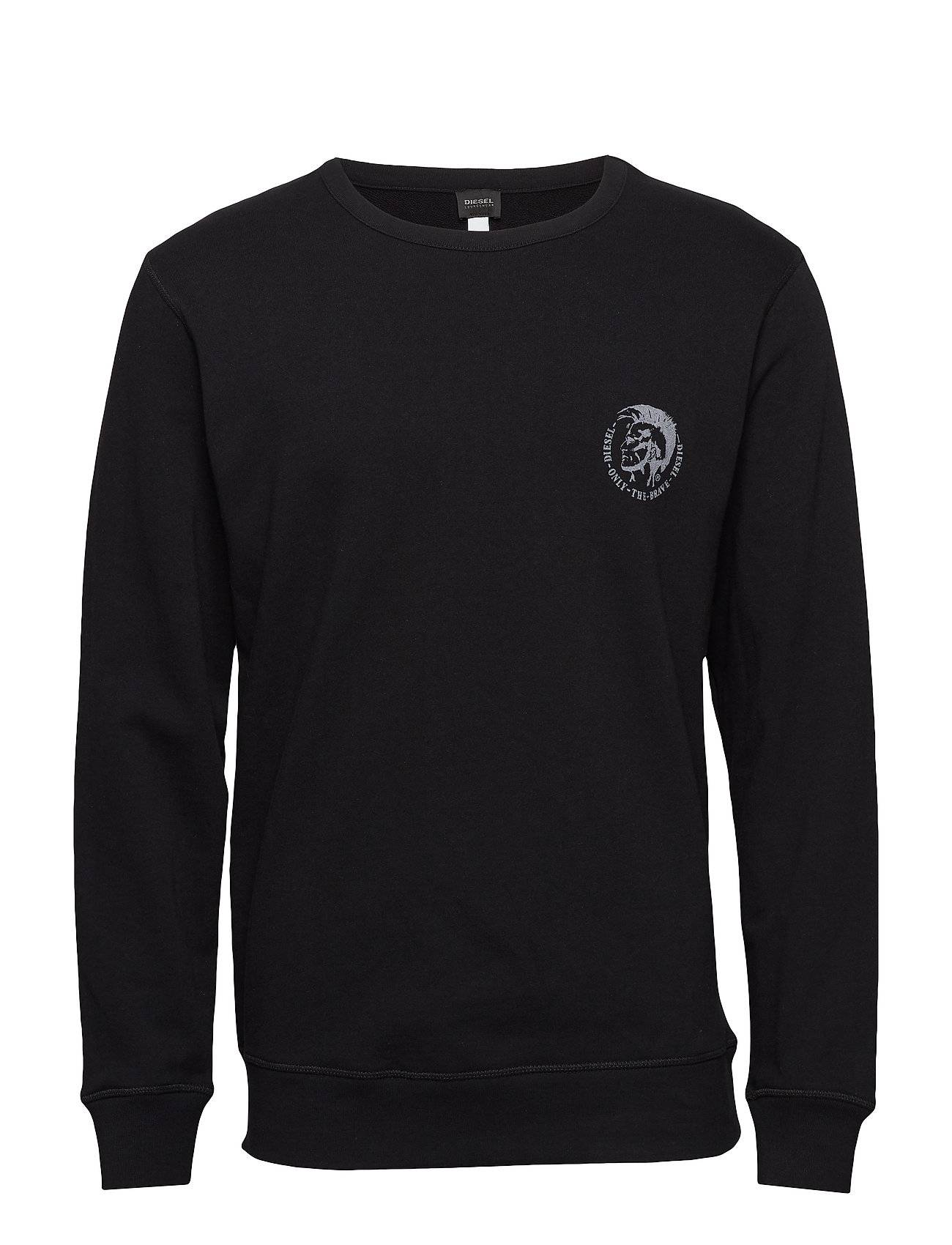 Diesel Men Umlt-Willy Sweat-Shirt Svetari Collegepaita Musta Diesel Men