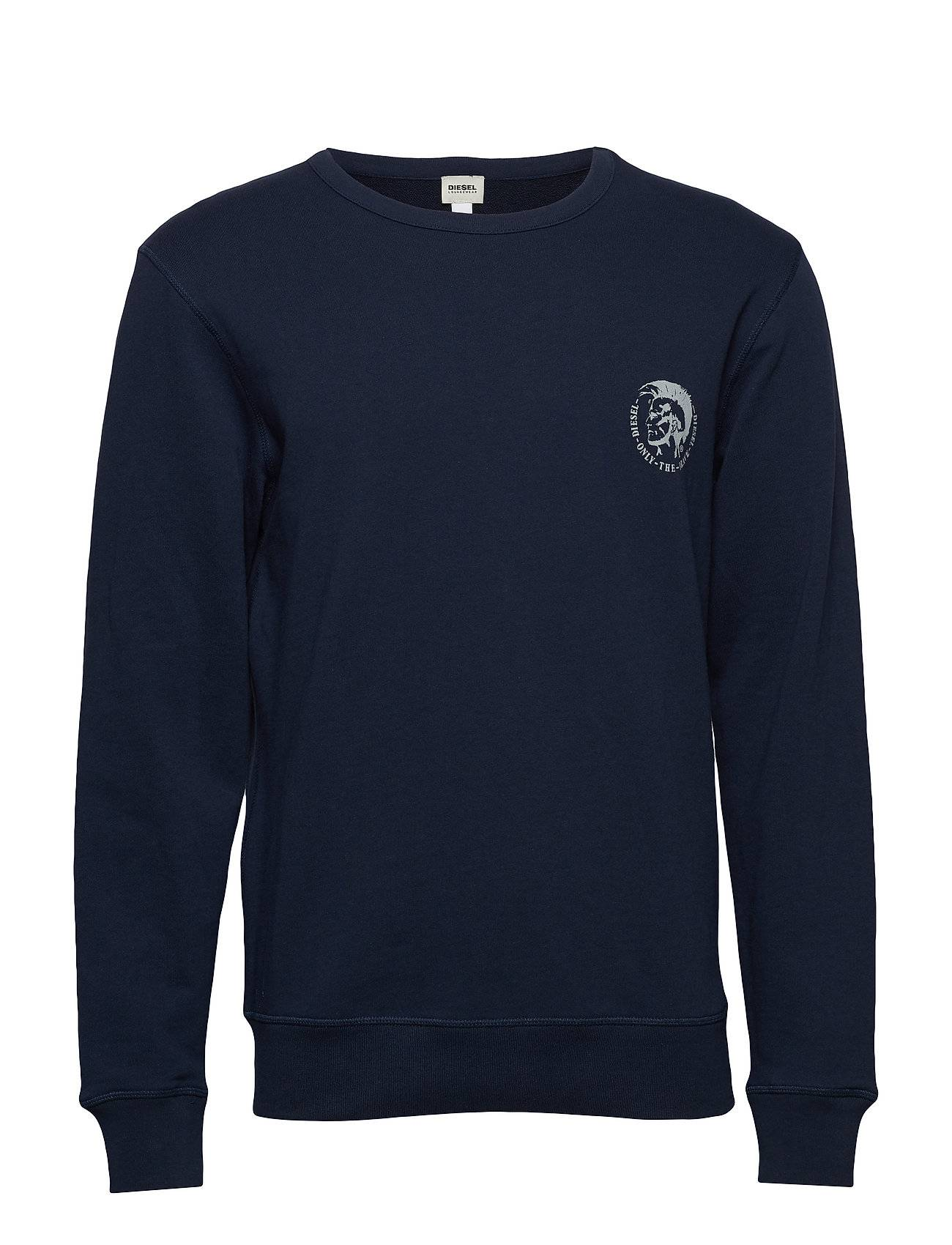 Diesel Men Umlt-Willy Sweat-Shirt Svetari Collegepaita Sininen Diesel Men