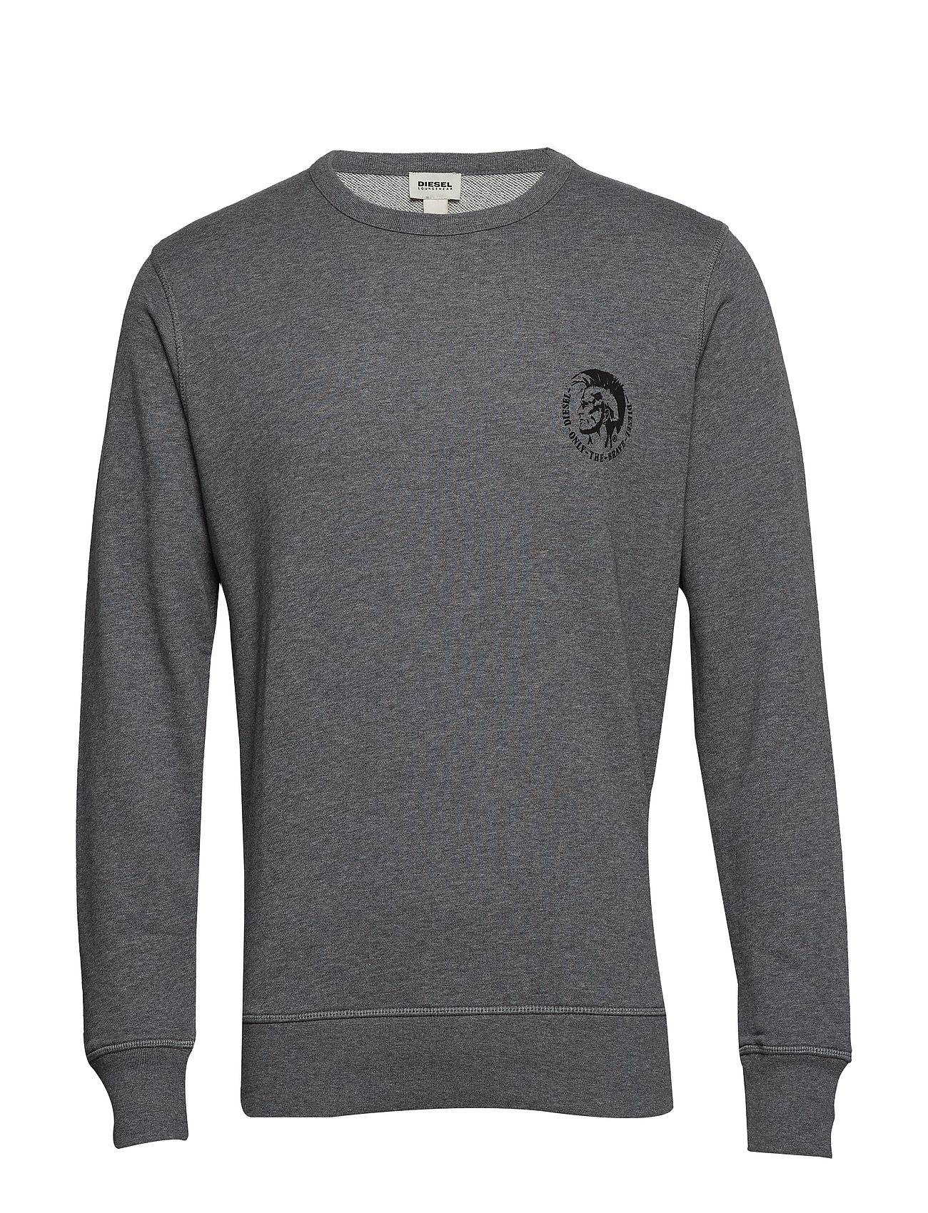 Diesel Men Umlt-Willy Sweat-Shirt Svetari Collegepaita Harmaa Diesel Men