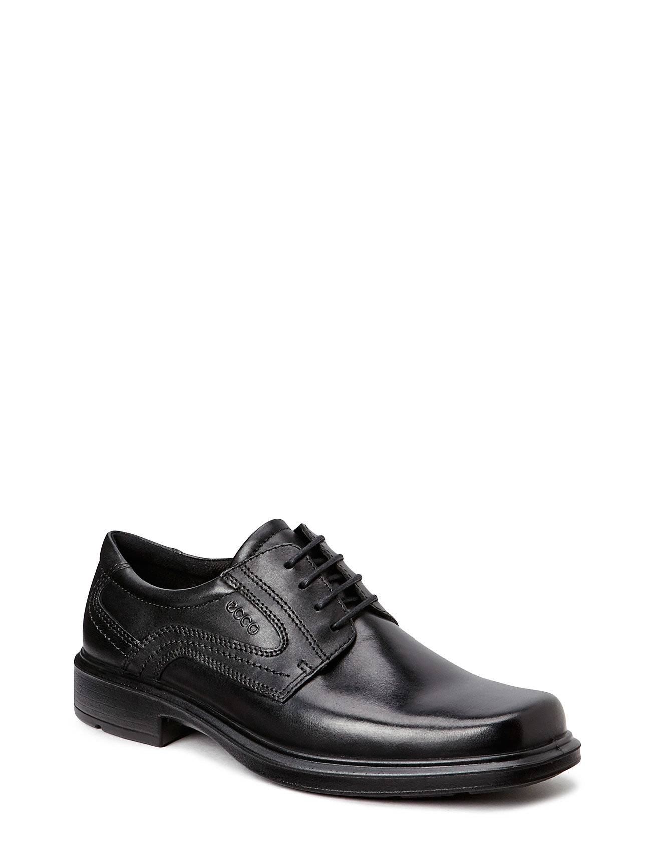 ECCO Helsinki Shoes Business Laced Shoes Musta