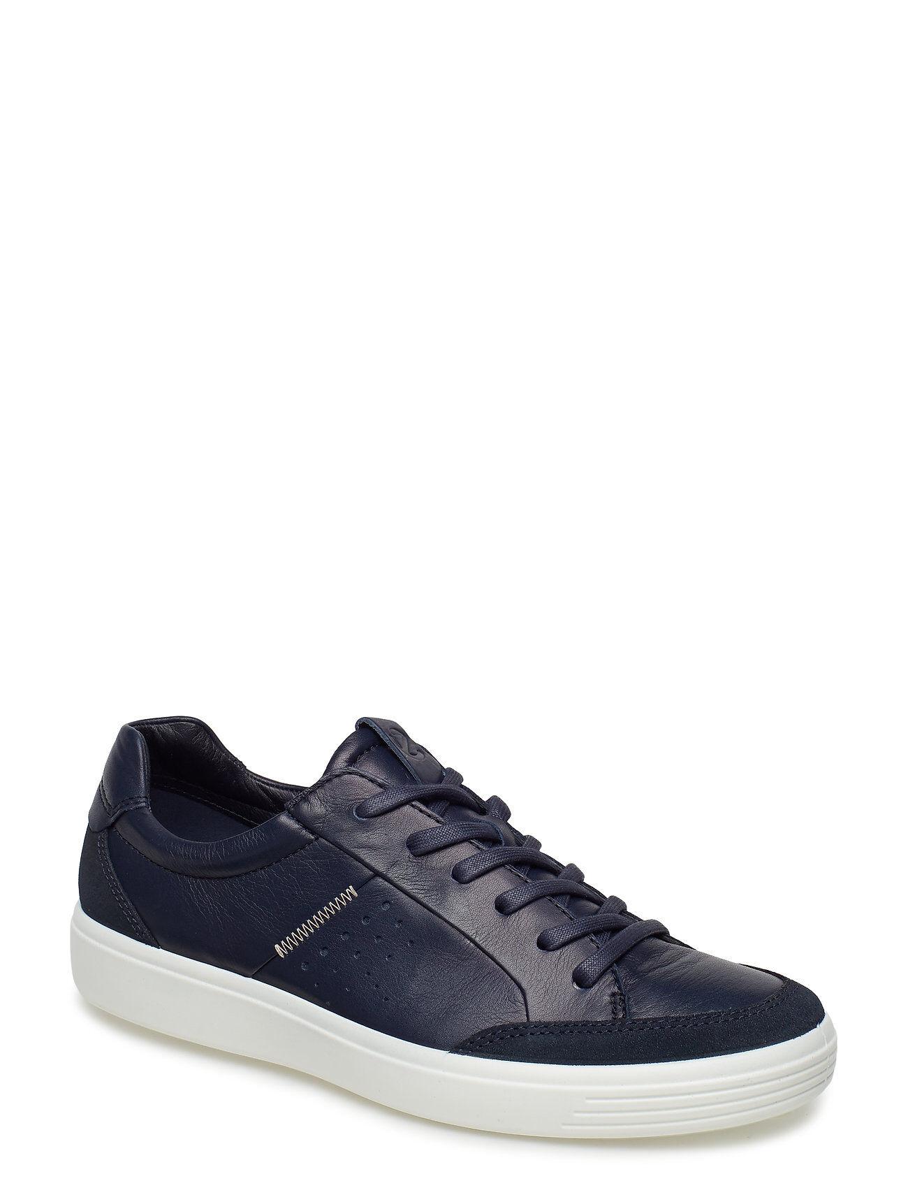 ECCO Soft 7 M Matalavartiset Sneakerit Tennarit Sininen
