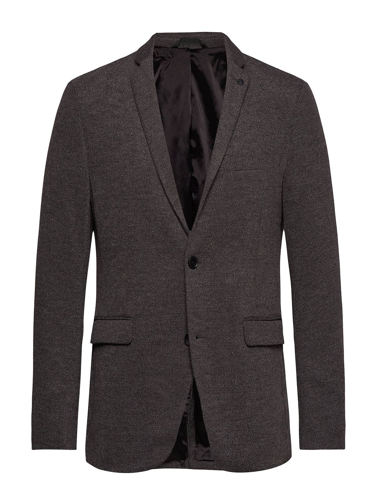 Image of Esprit Casual Blazers Knitted Bleiseri Puvun Takki Harmaa Esprit Casual