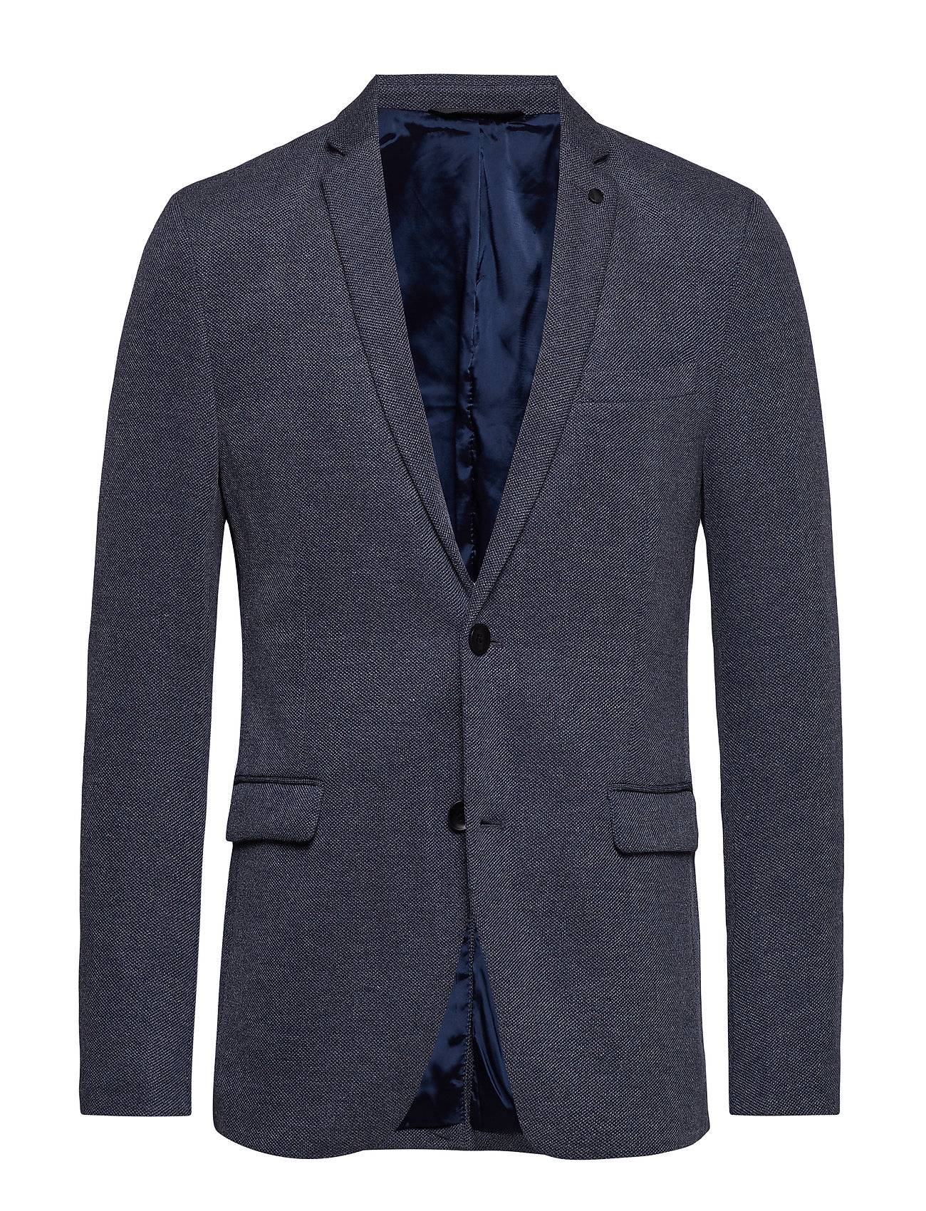 Image of Esprit Casual Blazers Knitted Bleiseri Puvun Takki Sininen Esprit Casual