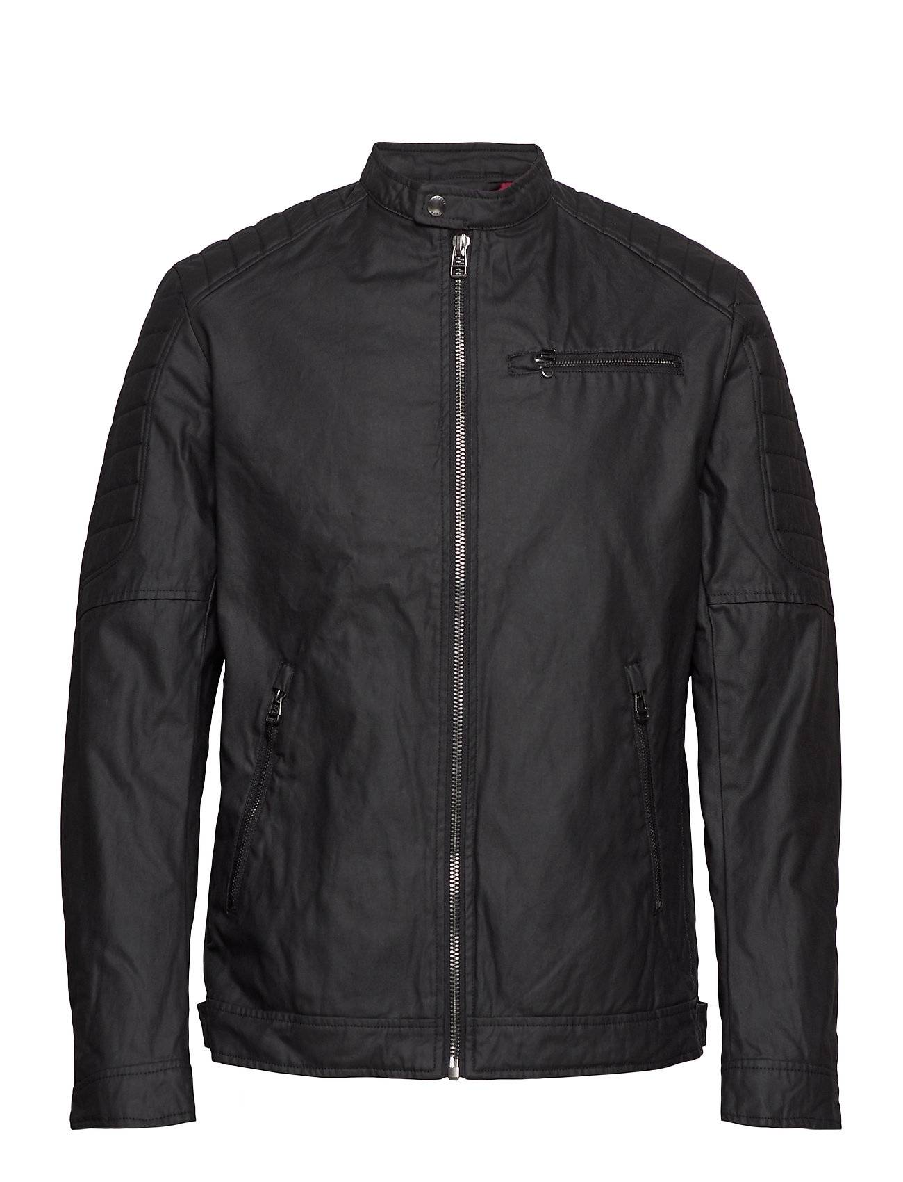 Image of Esprit Casual Jackets Outdoor Woven Nahkatakki Musta Esprit Casual