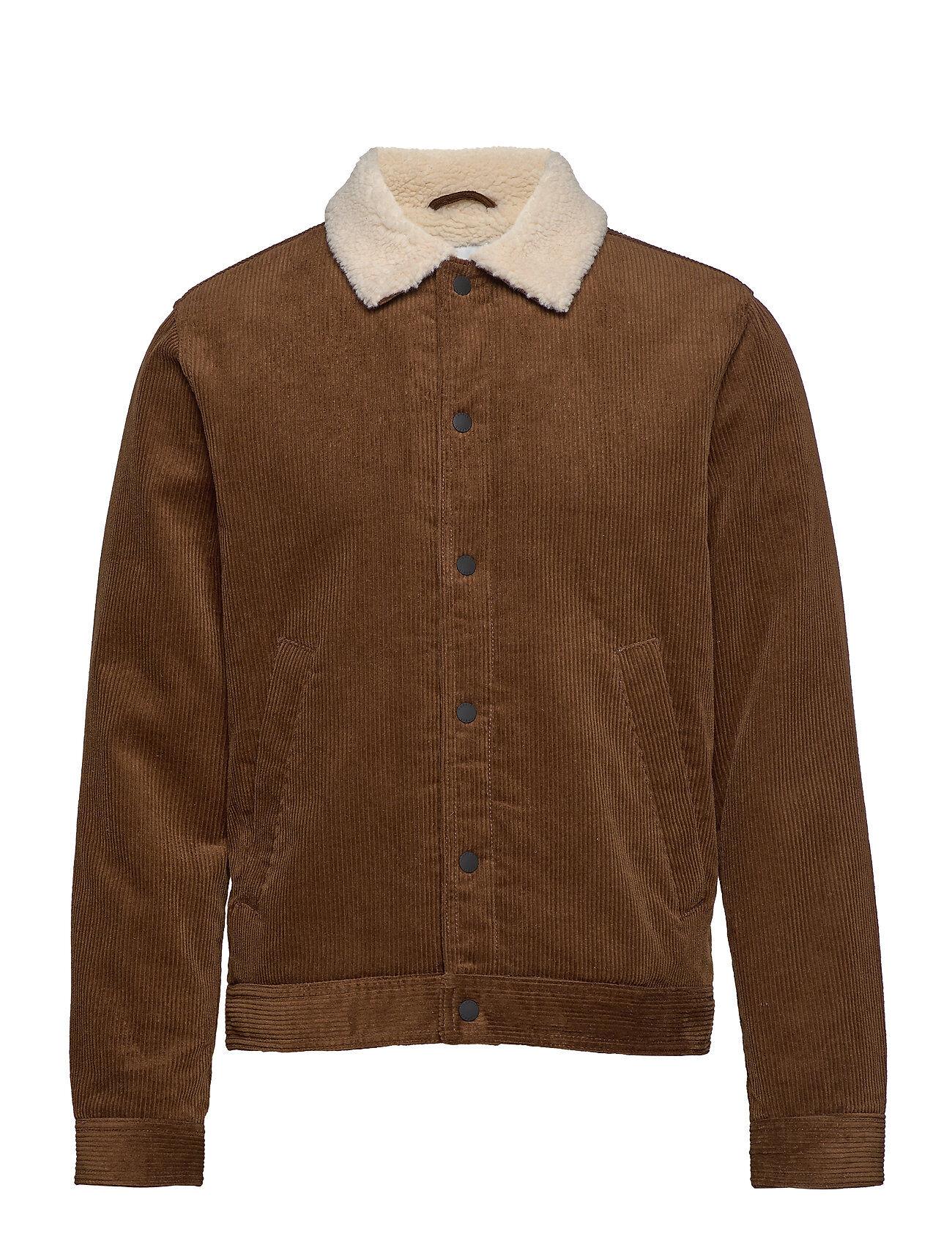 Image of Esprit Casual Jackets Outdoor Woven Farkkutakki Denimtakki Ruskea Esprit Casual