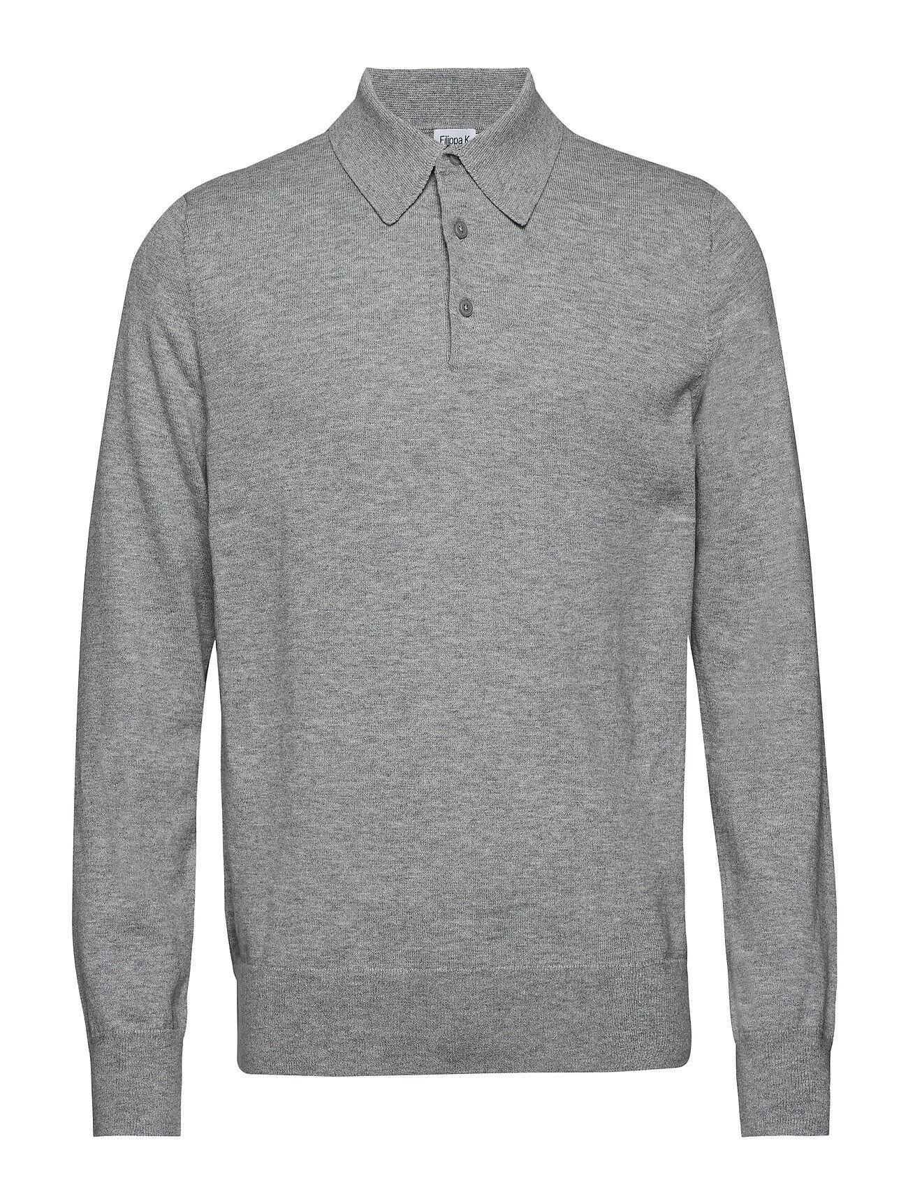 Filippa K M. Knitted Polo Shirt