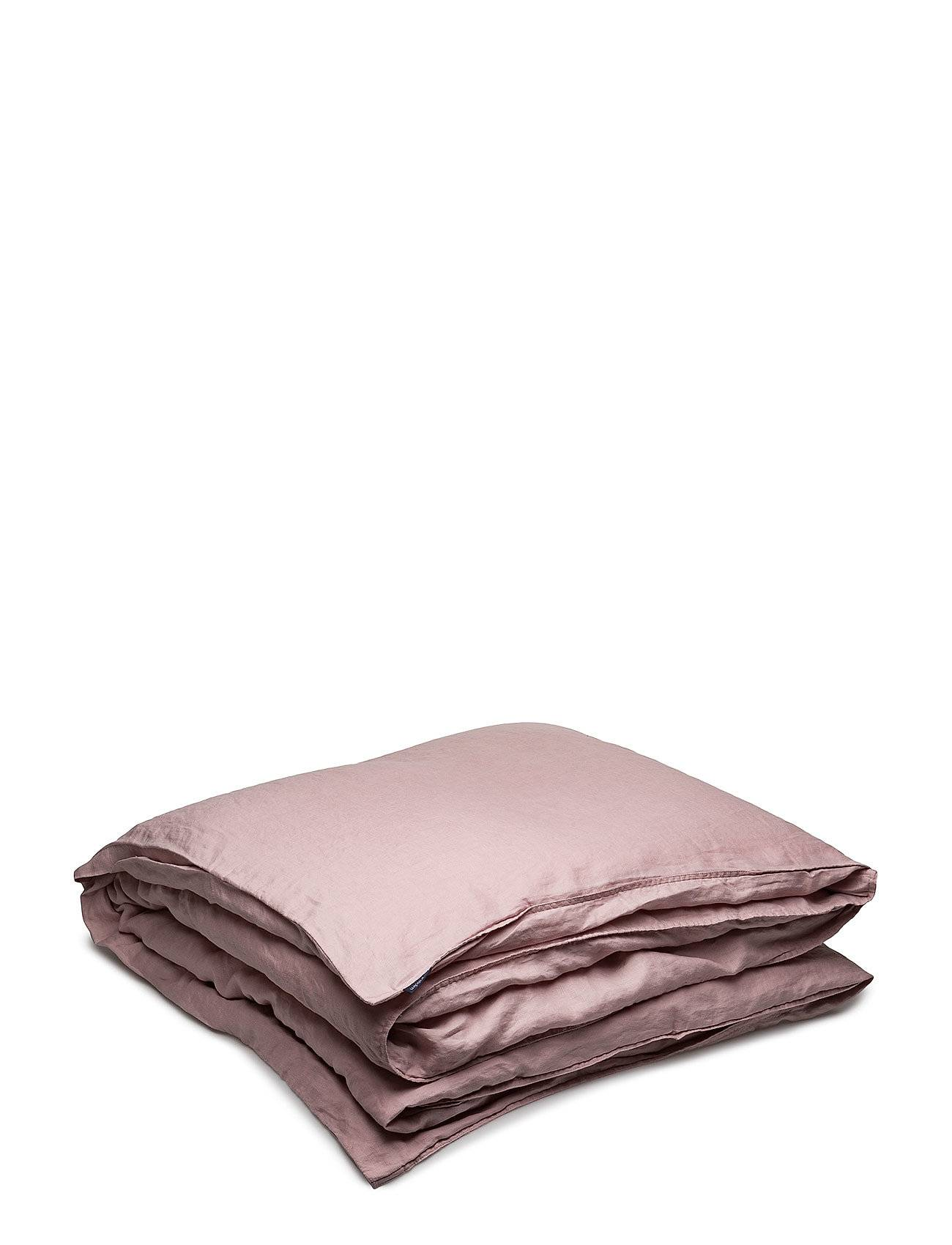 Gripsholm Quilt Cover Washed Linen Home Bedroom Bedding Duvetcovers Vaaleanpunainen Gripsholm