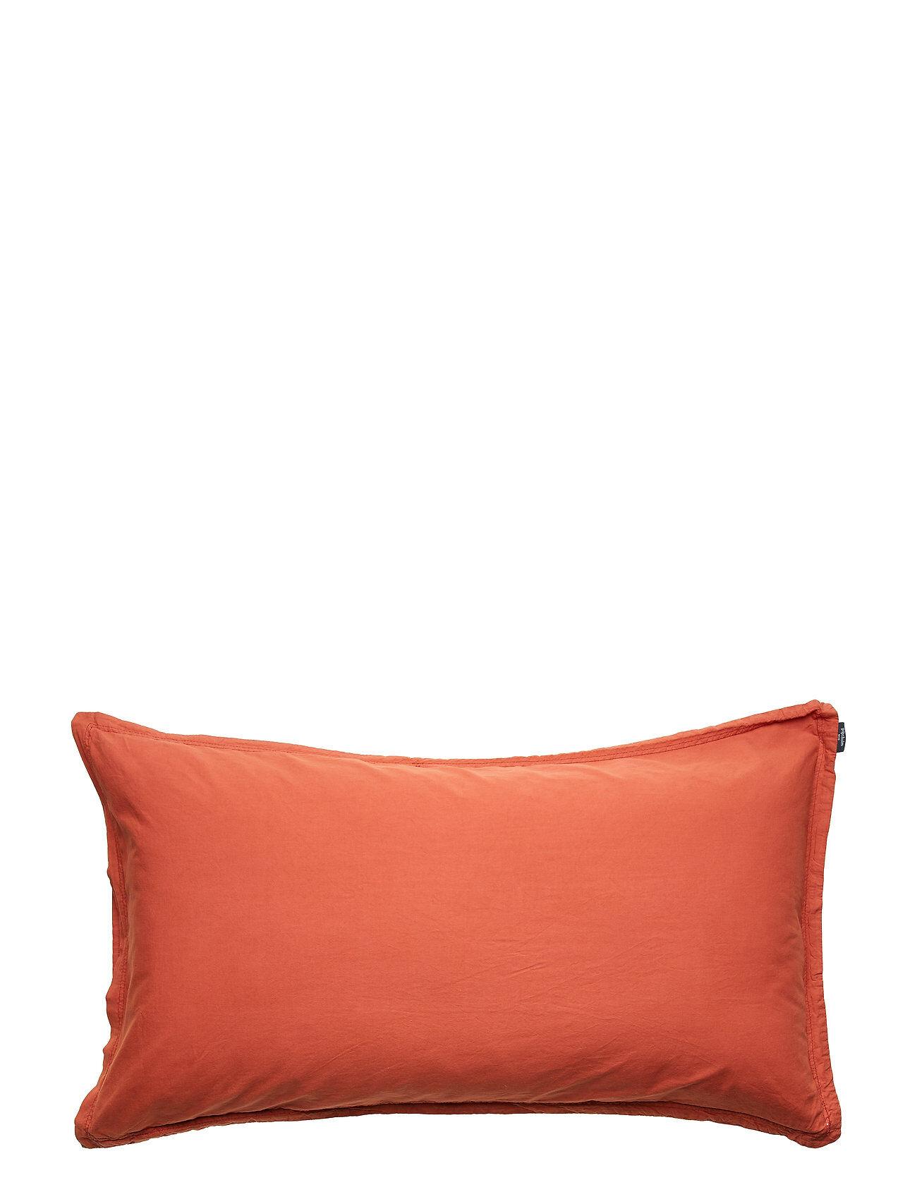 Gripsholm Pillowcase Vintage Gots Home Bedroom Bedding Pillowcases Oranssi Gripsholm