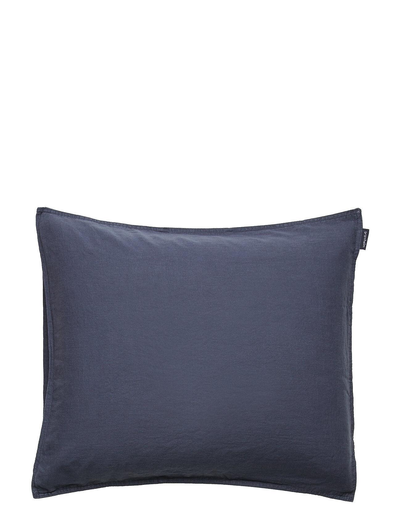 Gripsholm Pillowcase Linen Blend Home Bedroom Bedding Pillowcases Sininen Gripsholm
