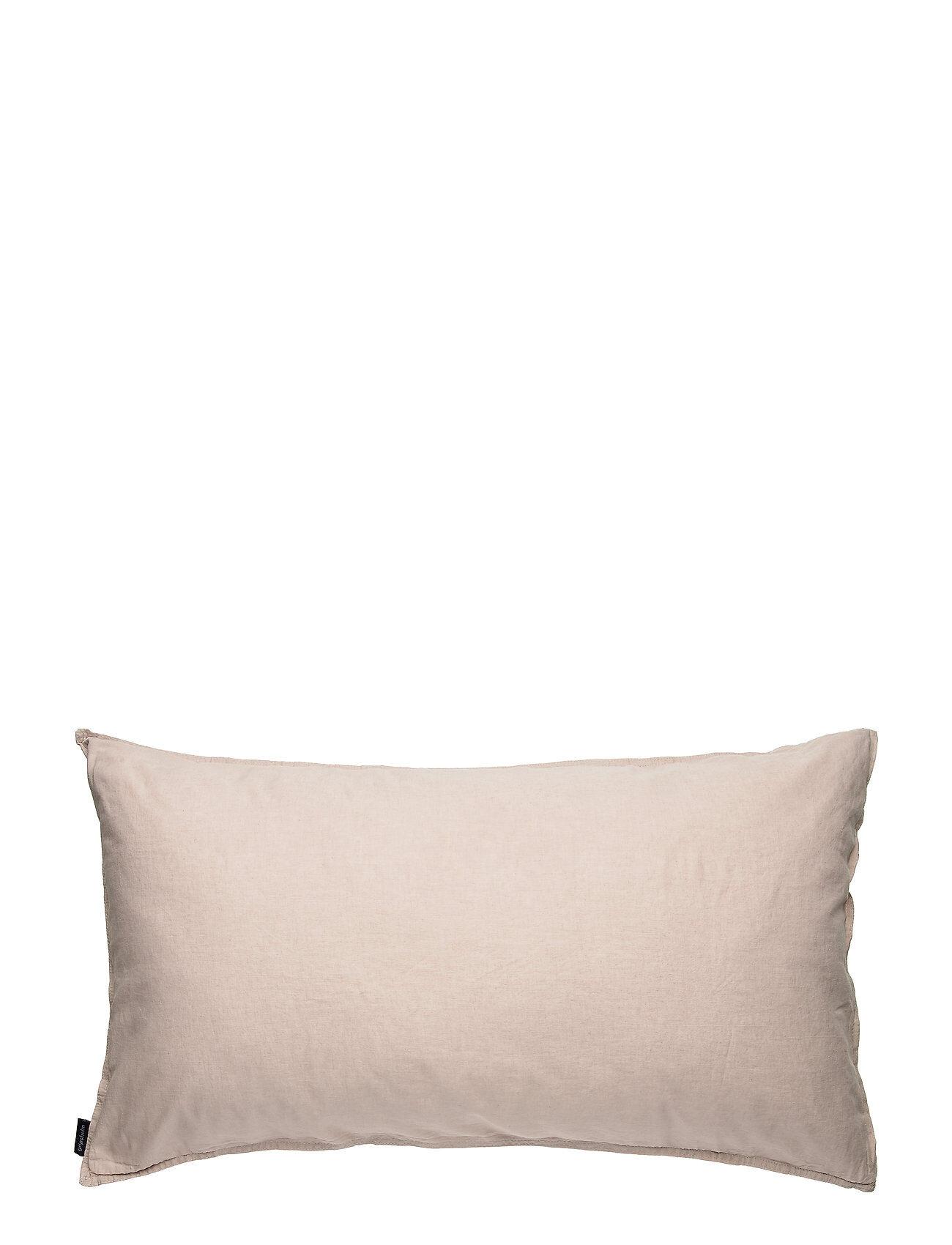 Gripsholm Pillowcase Linen Blend Home Bedroom Bedding Pillowcases Vaaleanpunainen Gripsholm