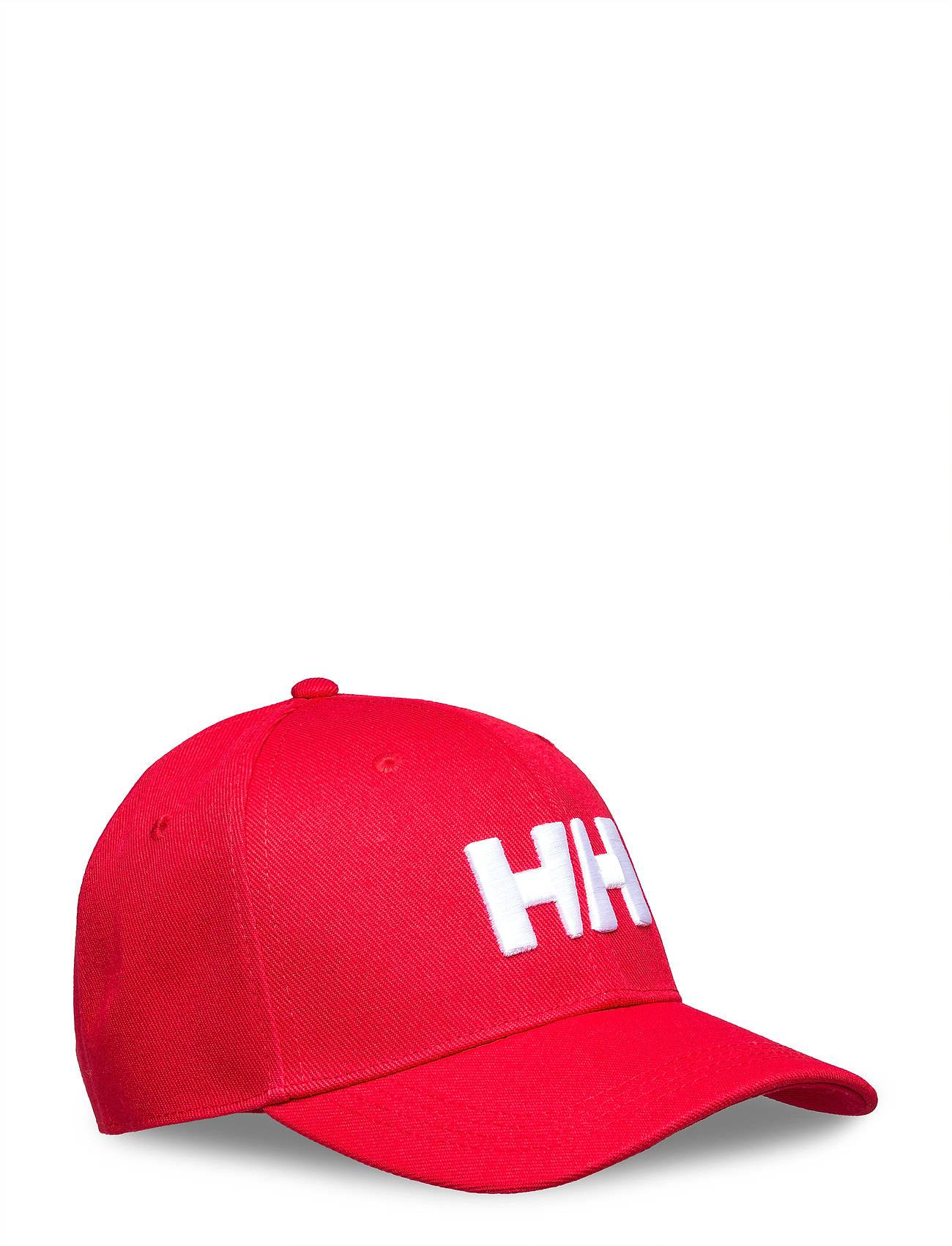 Helly Hansen Hh Brand Cap Accessories Headwear Caps Punainen