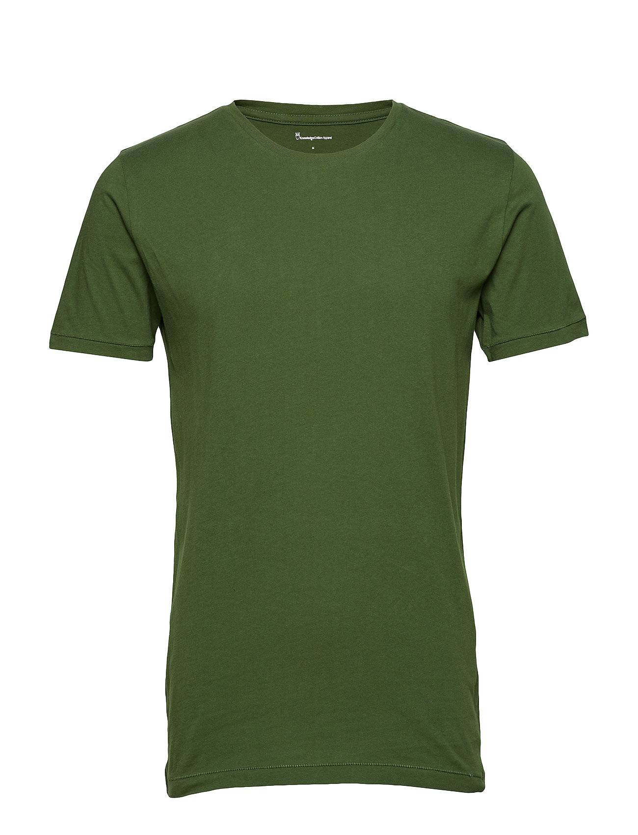 Knowledge Cotton Apparel Basic Regular Fit O-Neck Tee Gots/V