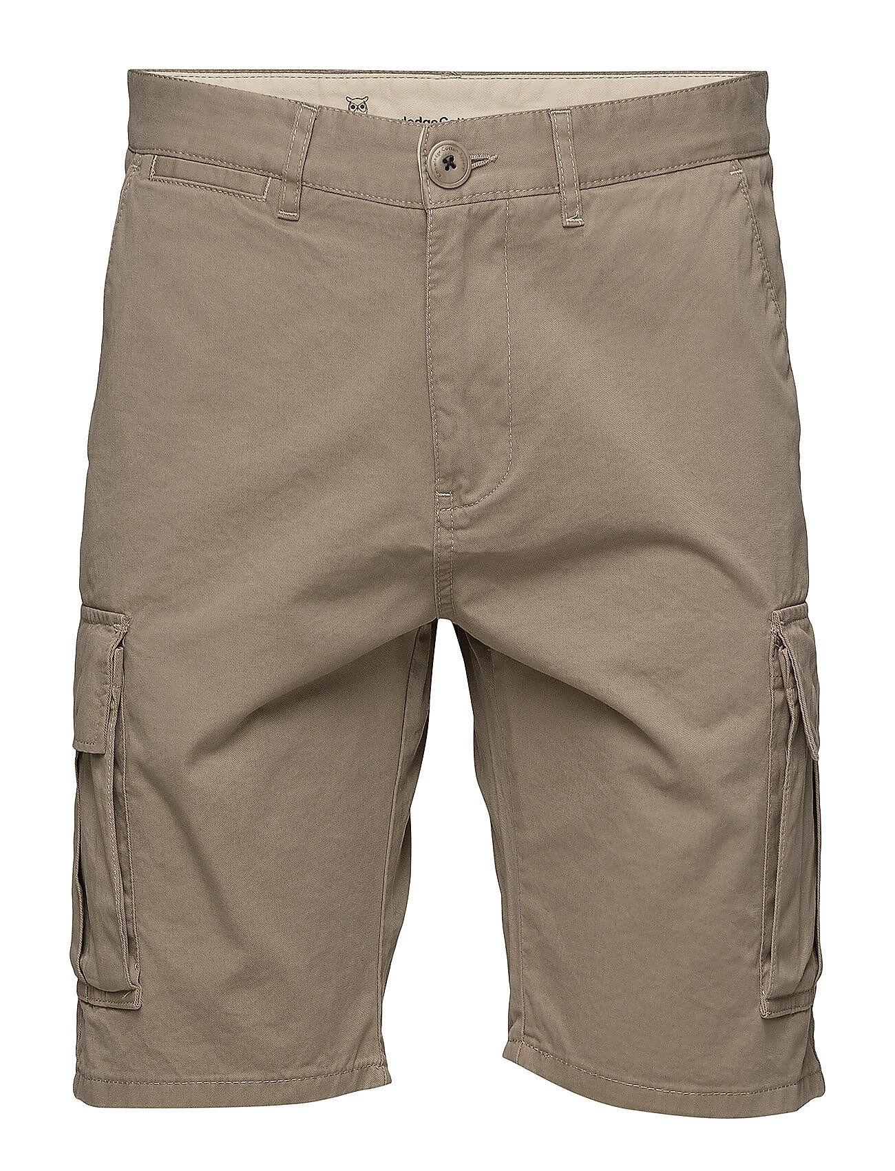 Knowledge Cotton Apparel Cargo Shorts - Gots/Vegan
