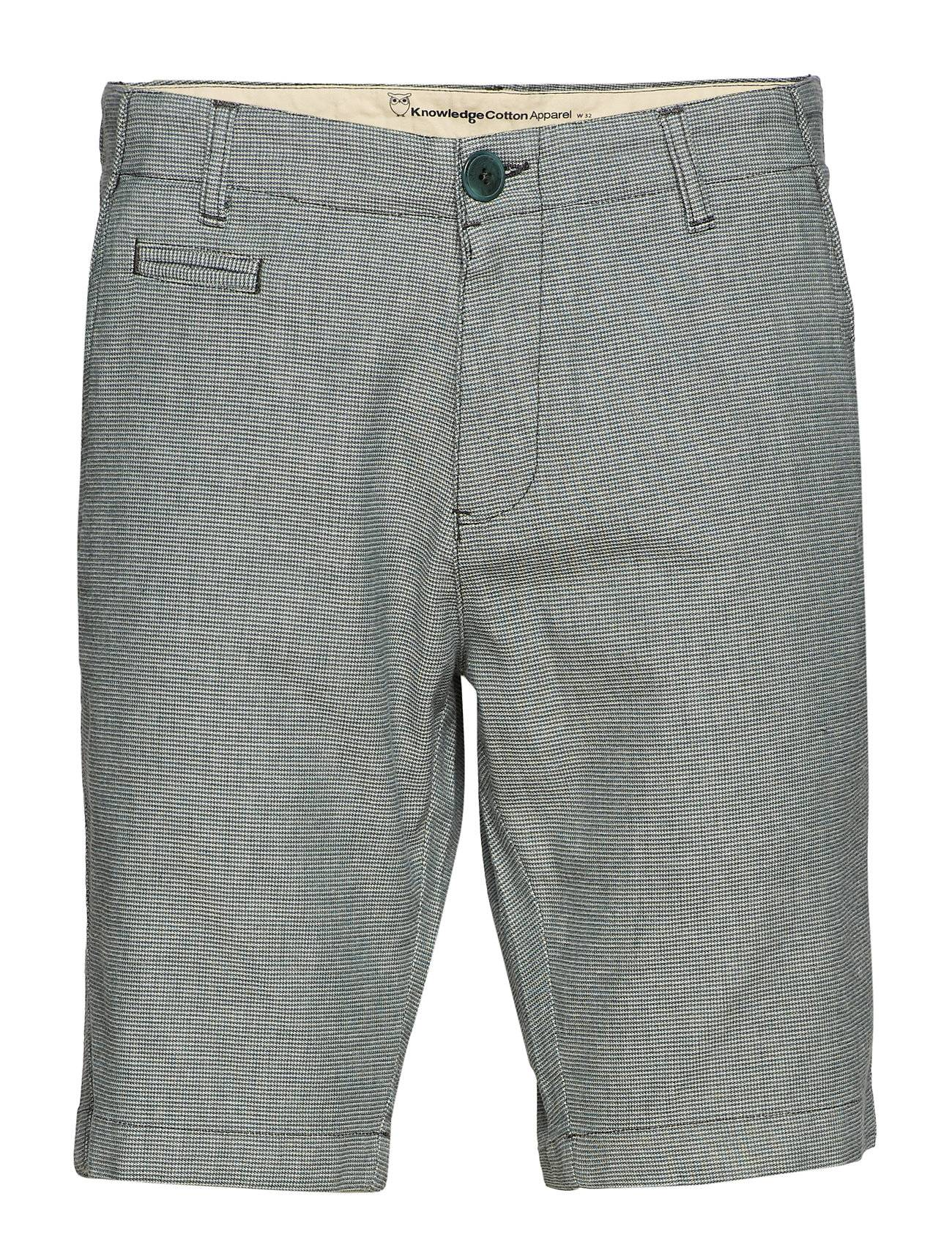 Knowledge Cotton Apparel Yarndyed 2-Col Stretched Shorts - G