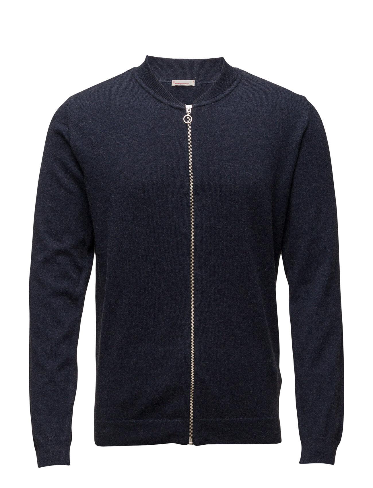 Knowledge Cotton Apparel Cotton/Cashmere Cardigan- Gots