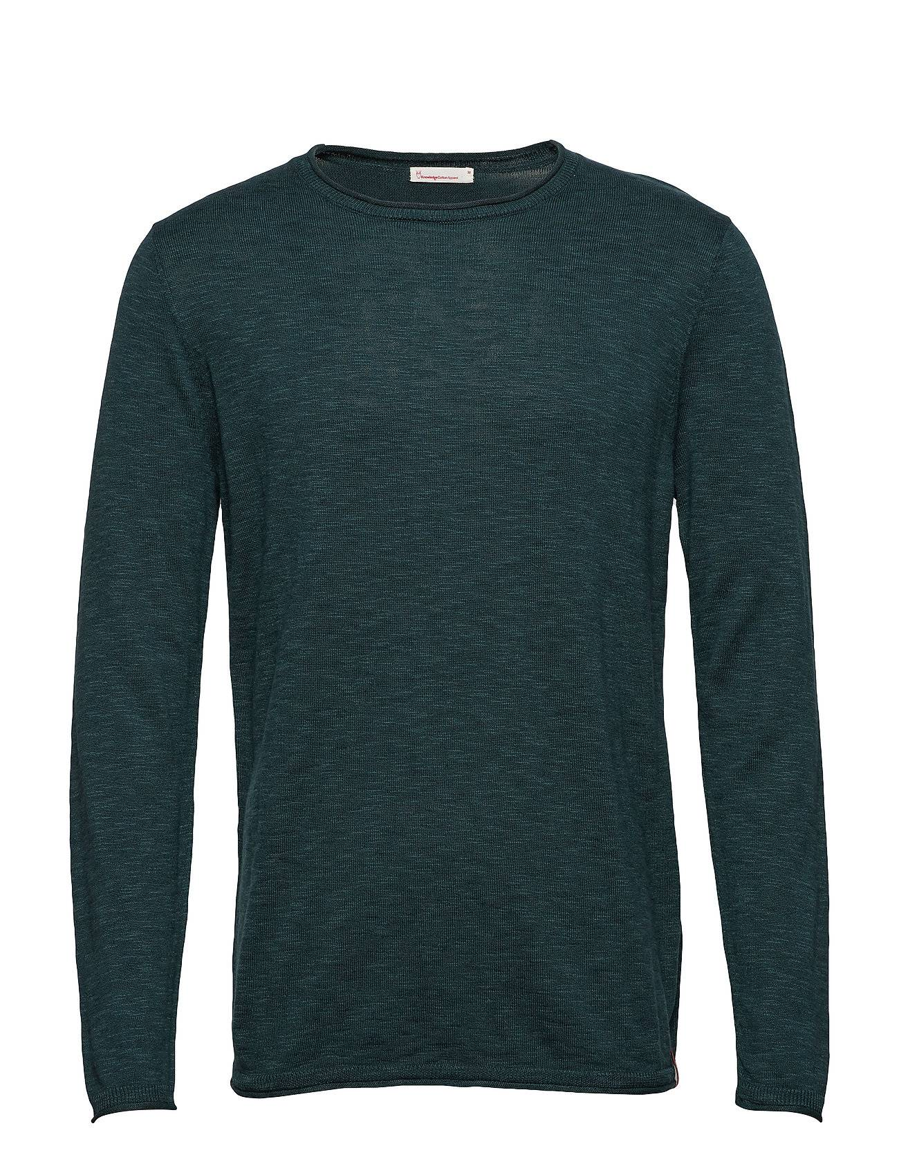 Knowledge Cotton Apparel Single Knit With Rool Edge/Vegan