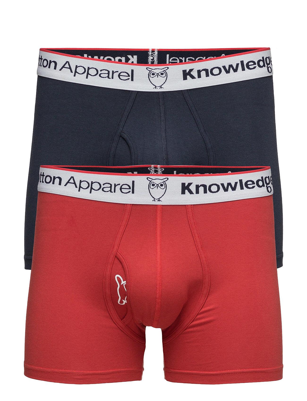Knowledge Cotton Apparel Underwear 2pack Solid/Owl Gots/Vega