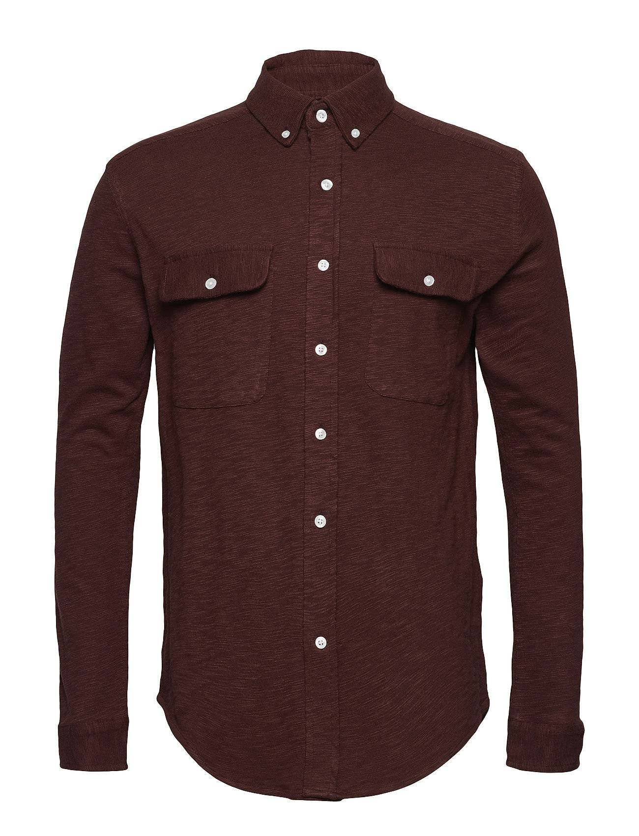 Knowledge Cotton Apparel Slope Jersey Shirt - Gots