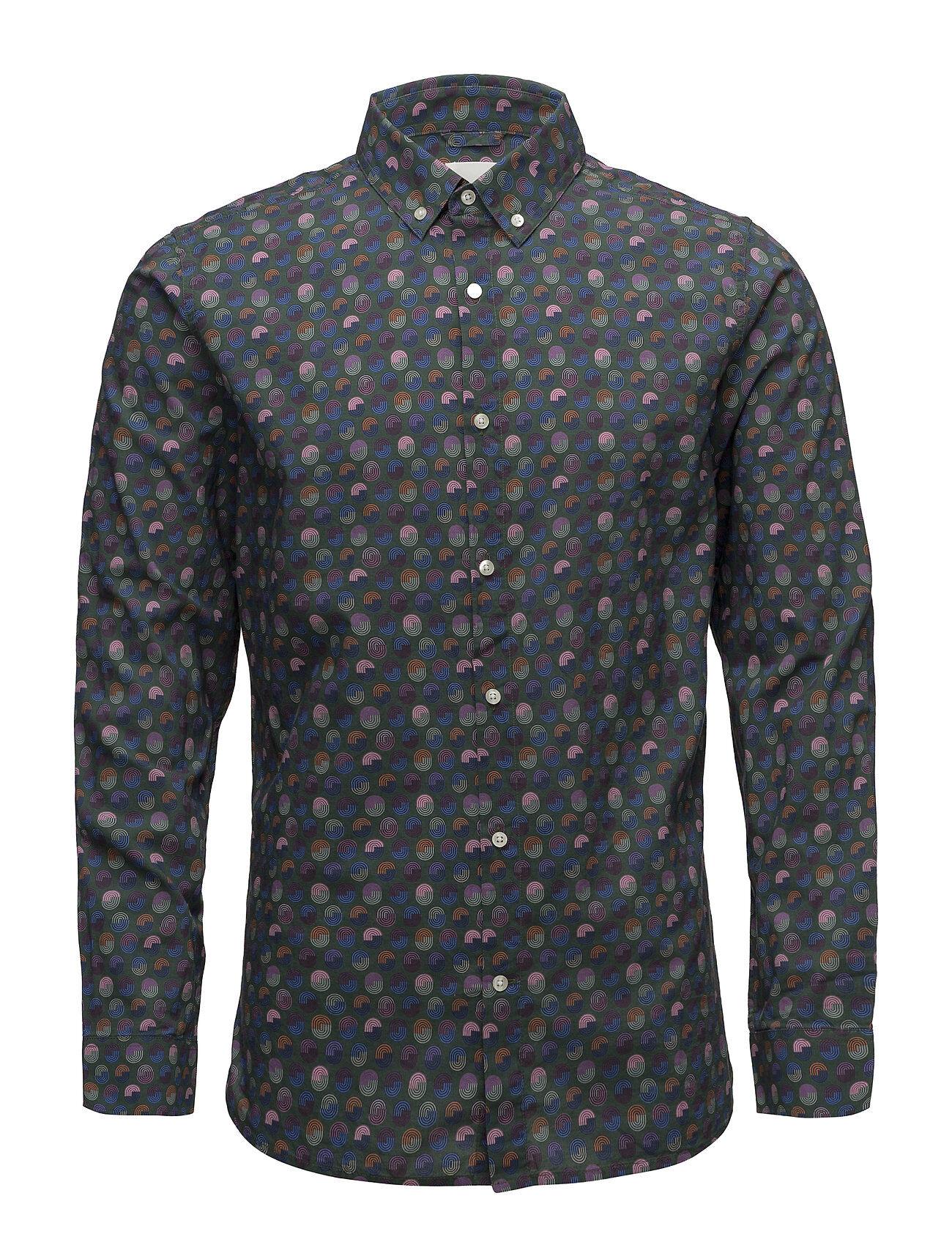 Knowledge Cotton Apparel Art Printed Shirt - Gots