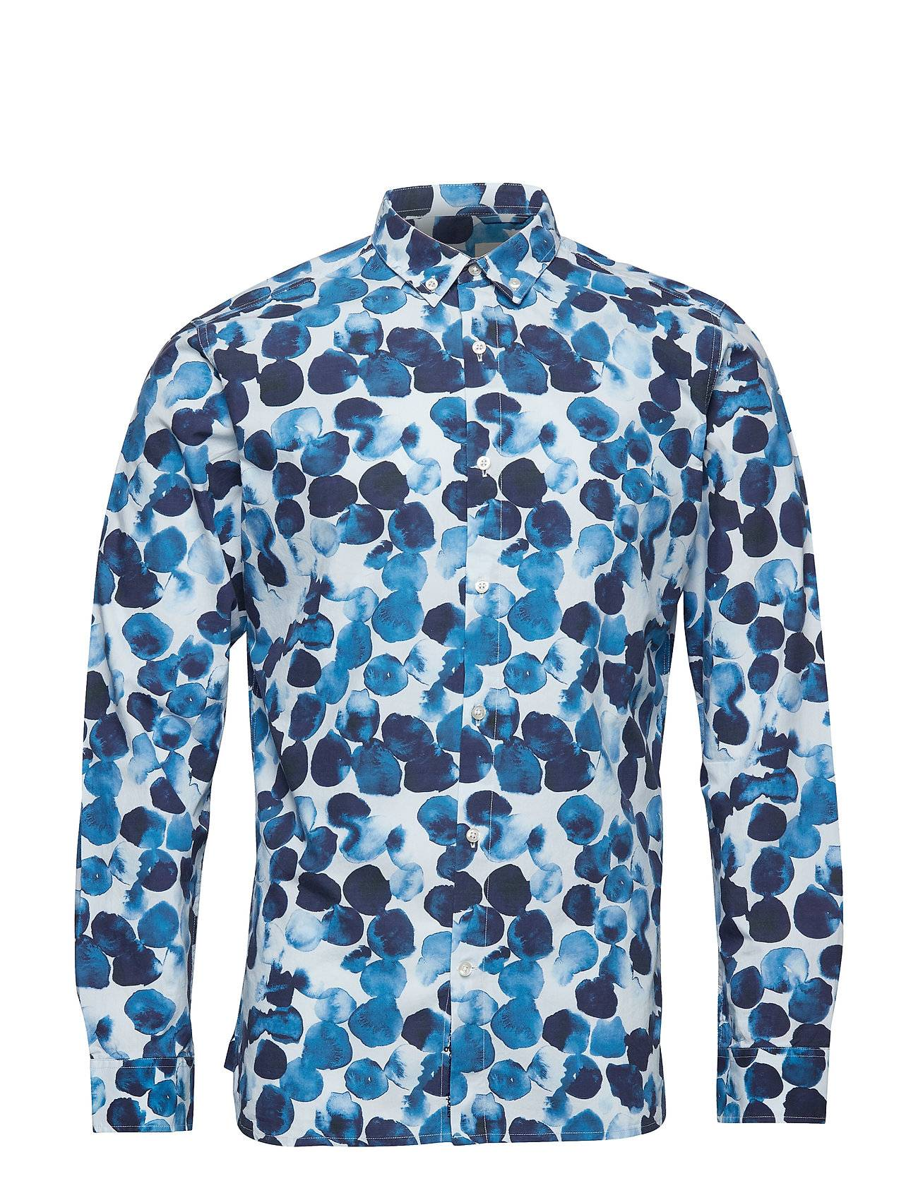 Knowledge Cotton Apparel Water Based Dot Printed Shirt - Got