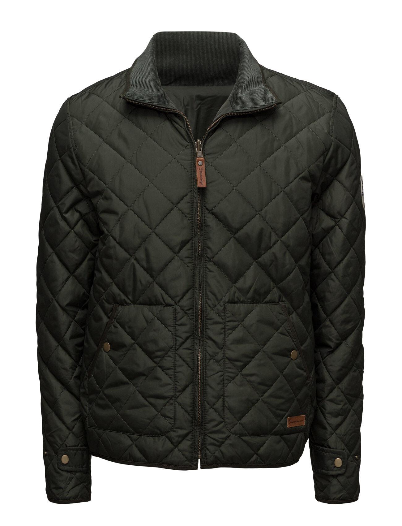Knowledge Cotton Apparel Pet Light Jacket Reversible - Grs/V