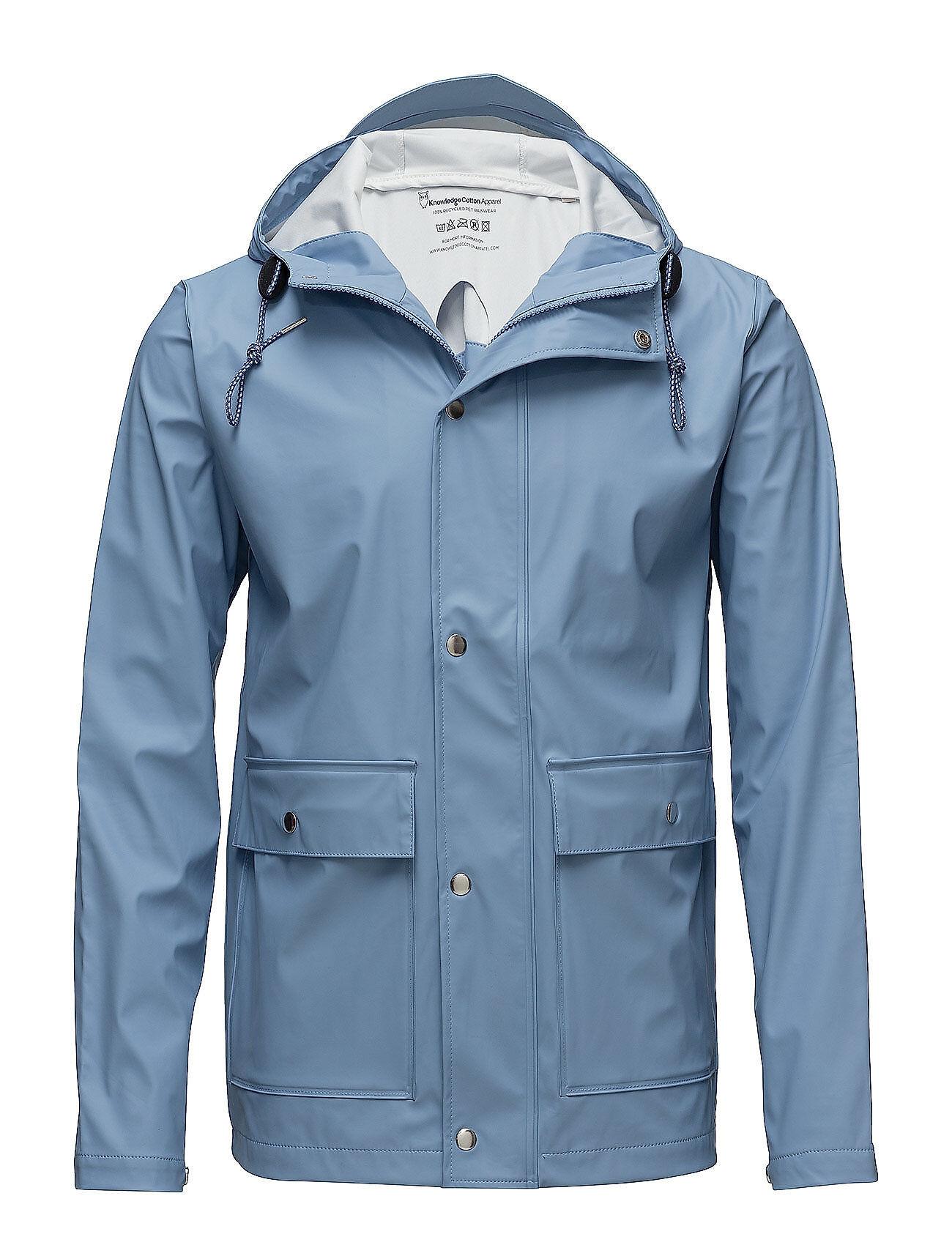 Knowledge Cotton Apparel Rain Jacket/Vegan
